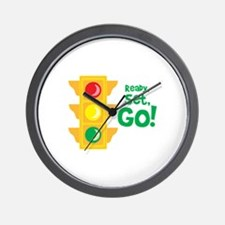 Ready, Set, Go! Wall Clock