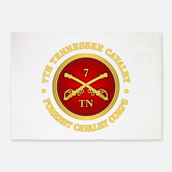 7th Tennessee Cavalry 5'x7'Area Rug