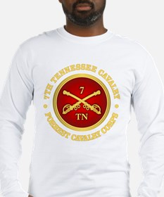 7th Tennessee Cavalry Long Sleeve T-Shirt