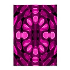 Graphic Pink 5'x7'Area Rug