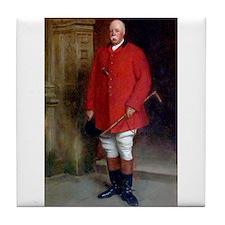 William, the 11th Baron North. Tile Coaster