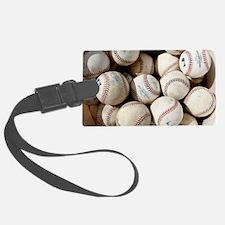 Baseballs Luggage Tag