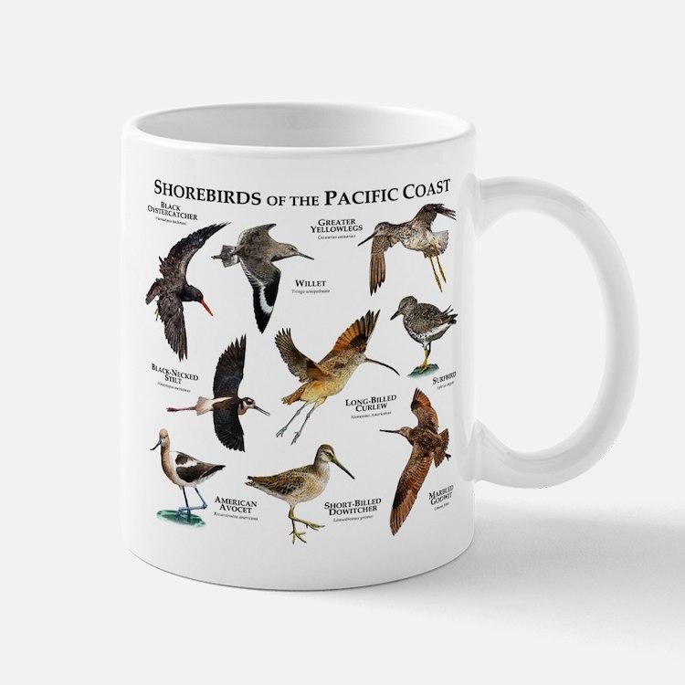 Shorebirds of the Pacific Coast Mug