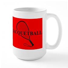 Racquetball Mug Red Mugs