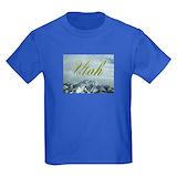 Salt lake city Kids T-shirts (Dark)