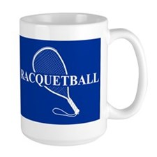 Racquetball Mug Blue Mugs