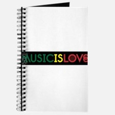 MUSIC IS LOVE 2 Journal