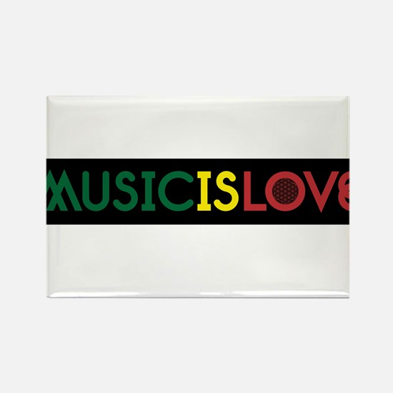 MUSIC IS LOVE 2 Magnets