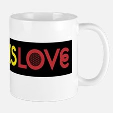 MUSIC IS LOVE 2 Mugs
