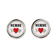 Nurse For Life Cufflinks