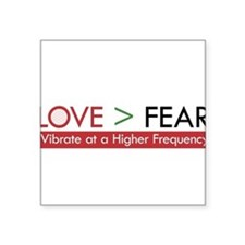 LOVE FEAR 2 Sticker
