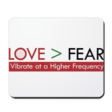 LOVE FEAR 2 Mousepad