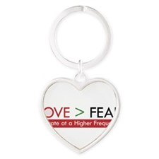 LOVE FEAR 2 Keychains