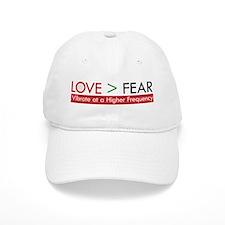 LOVE FEAR 2 Baseball Baseball Cap
