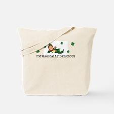 Leprechaun Im magically delicious Tote Bag