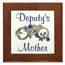 Deputy's Mother Framed Tile