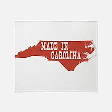 North Carolina Throw Blanket