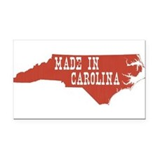 North Carolina Rectangle Car Magnet