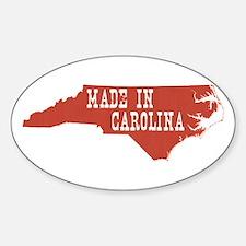 North Carolina Sticker (Oval)
