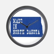 North Dakota Wall Clock