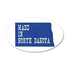 North Dakota Wall Decal