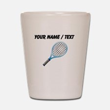Custom Tennis Racket Shot Glass