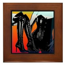 Boots And Corset Framed Tile (Colorful) Framed Til