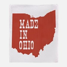 Ohio Throw Blanket