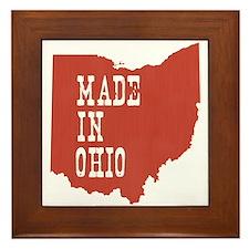 Ohio Framed Tile