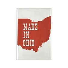Ohio Rectangle Magnet