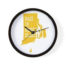 Rhode Island Wall Clock
