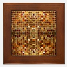 Gold Tiles Framed Tile