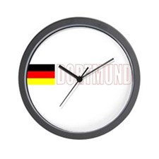 Dortmund, Germany Wall Clock