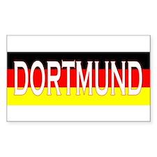 Dortmund, Germany Rectangle Decal
