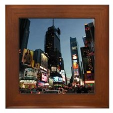 New York Times Square Framed Tile