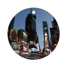 New York Times Square Ornament (Round)
