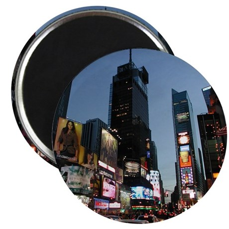 """New York Times Square 2.25"""" Magnet (10 pack)"""