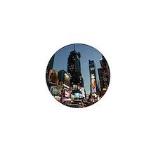 New York Times Square Mini Button