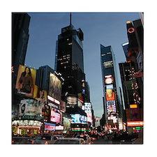 New York Times Square Tile Coaster