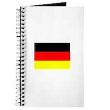 Deutschland Flag (Dark) Journal