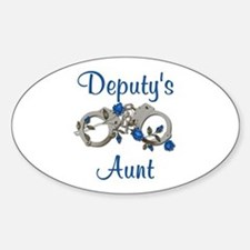 Deputy's Aunt Oval Decal