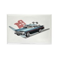 59 Chevy Rectangle Magnet