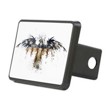American Eagle Flag Hitch Cover
