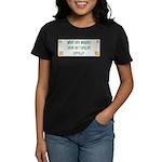 Hugged Rottweiler Women's Dark T-Shirt