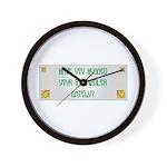 Hugged Rottweiler Wall Clock