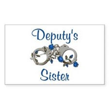 Deputy's sister Rectangle Decal