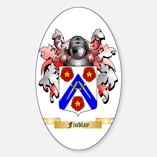 Findlay Sticker (Oval)