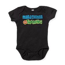 Marathoner In Training Baby Bodysuit
