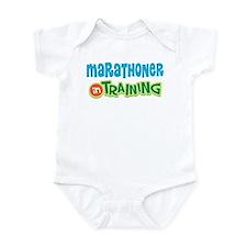 Marathoner In Training Infant Bodysuit