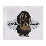 DoxieLover2.png Throw Blanket